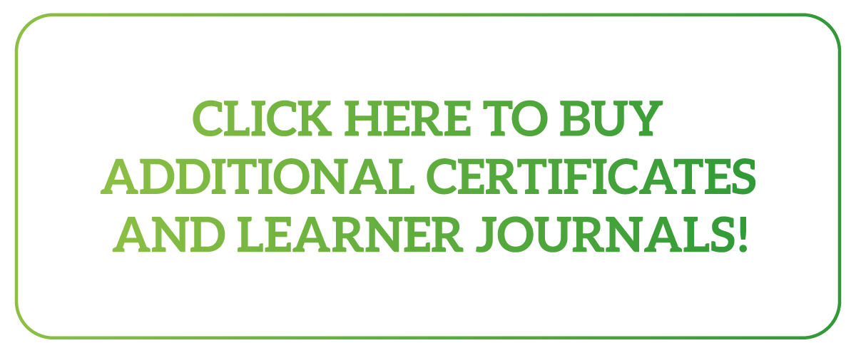 Buy additional certificates and Learner Journals